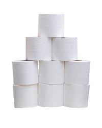 toalettpapper rullar